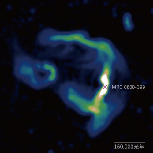 在喷流中一窥星系团的磁场