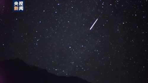 英仙座流星雨进入最佳观测期