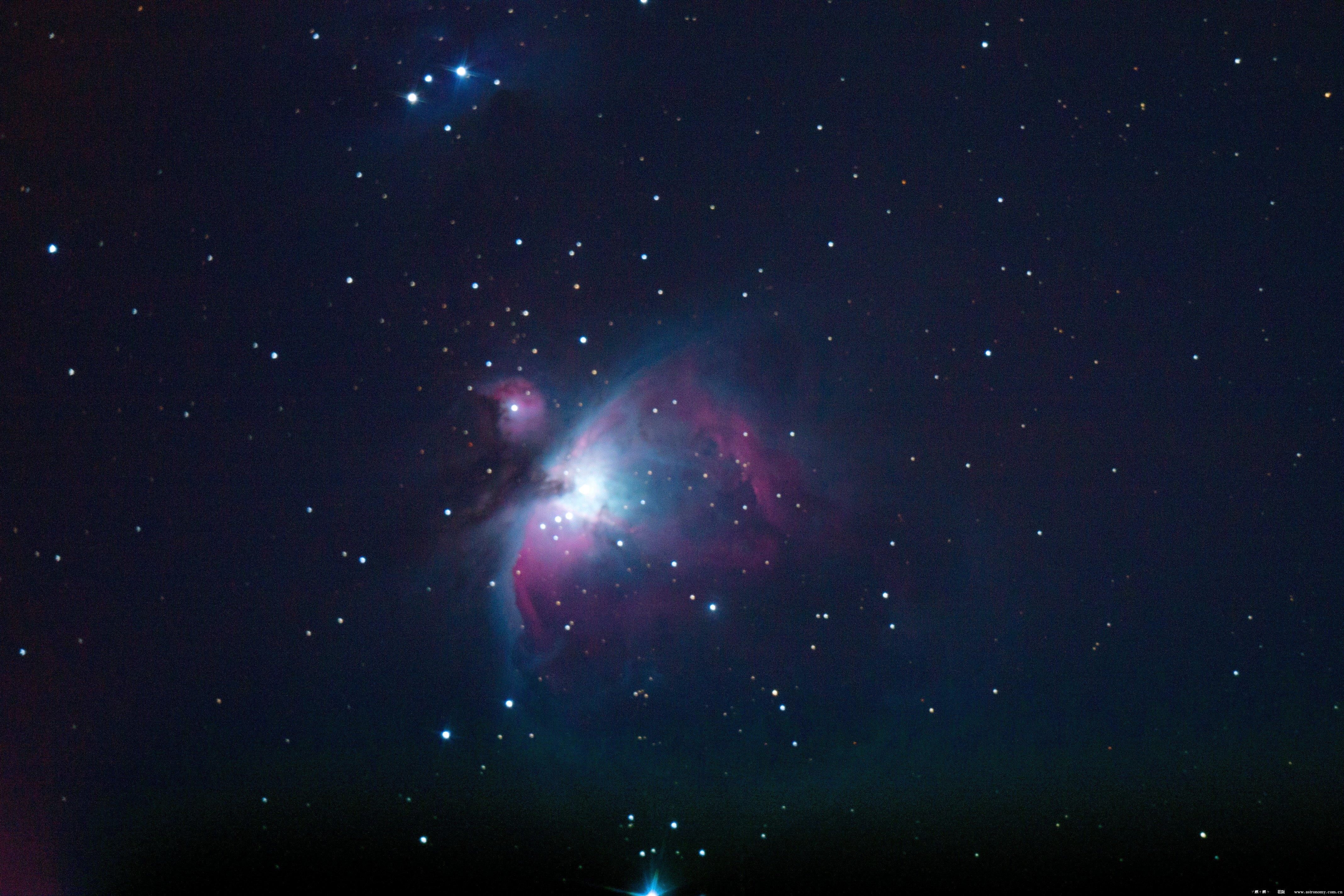 猎户座大星云,单张1分钟