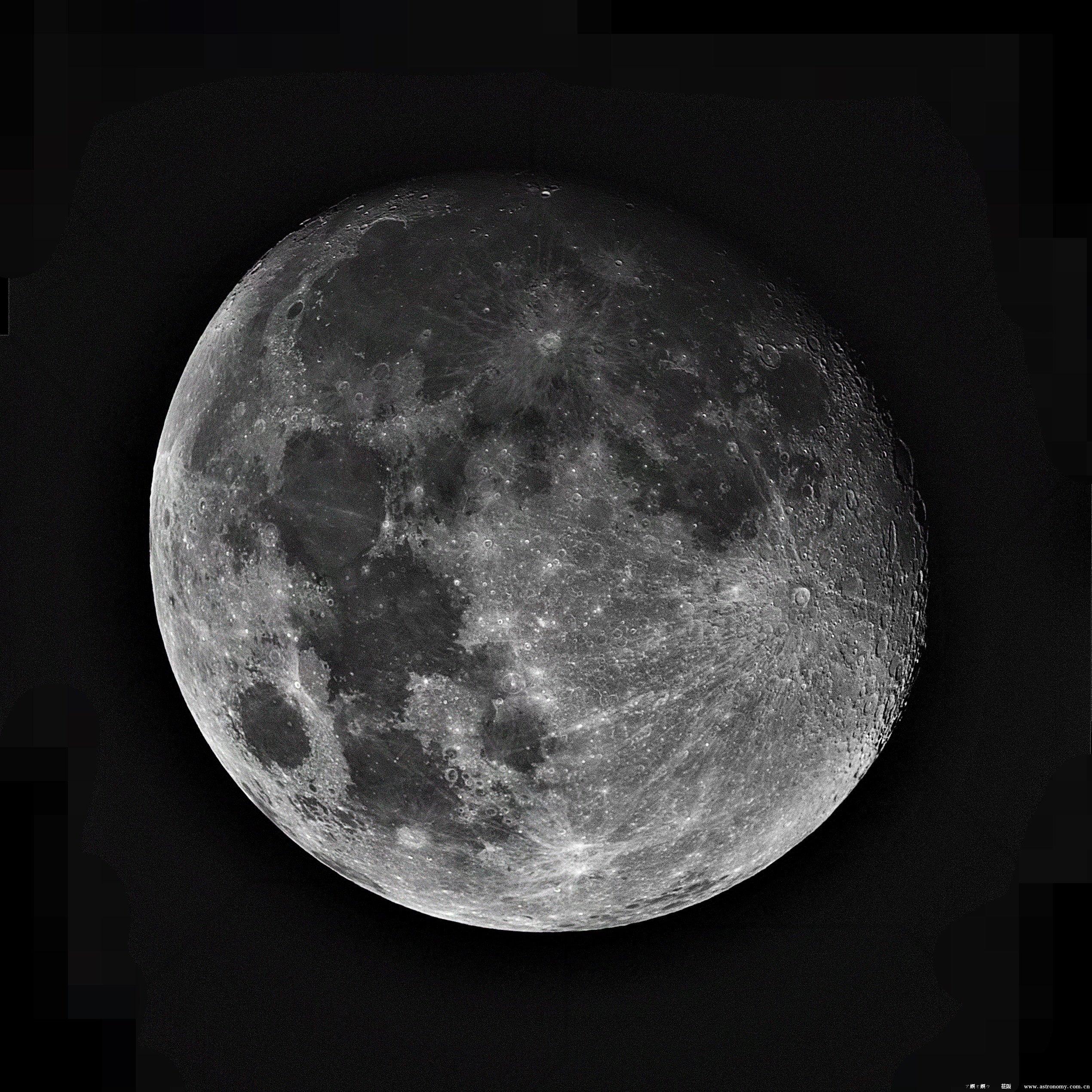 月亮,2X巴洛,11张拼接