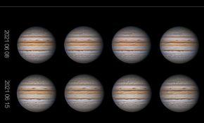6月16日凌晨的木星