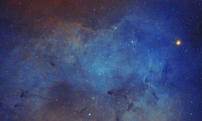 天台拍的象鼻星云IC1396SHO版本