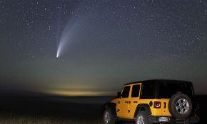 C/2020 F3彗星 - 7月18日怀俄明州