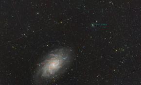 M33和156P彗星
