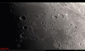 150马卡拍摄的月面地貌